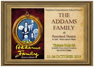 The Addams Family Musical, 21st - 24th October